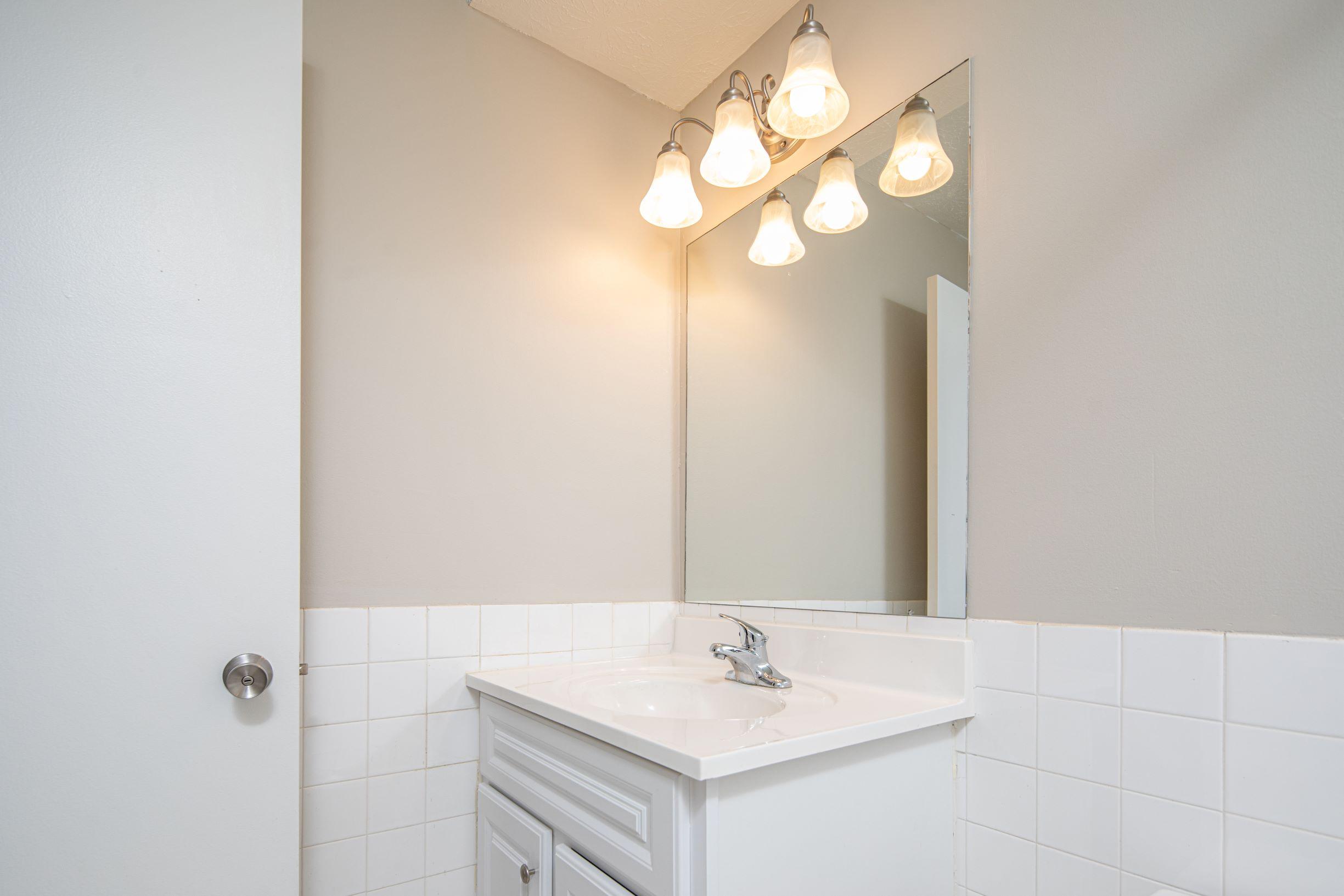 Bathroom Vanity with under sink storage